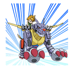DIGIMON ADVENTURE sticker #5137989