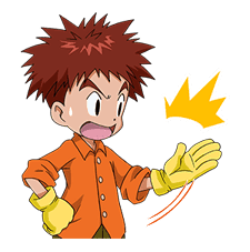 DIGIMON ADVENTURE sticker #5137991