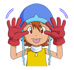 DIGIMON ADVENTURE sticker #5137995