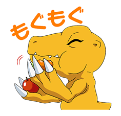 DIGIMON ADVENTURE sticker #5138006