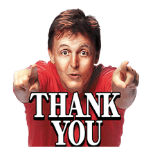 Chat with Paul McCartney sticker #5286100