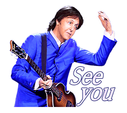 Chat with Paul McCartney sticker #5286108