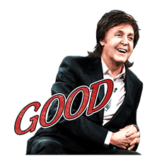 Chat with Paul McCartney sticker #5286109