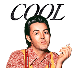 Chat with Paul McCartney sticker #5286111