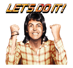 Chat with Paul McCartney sticker #5286112