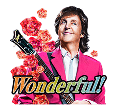 Chat with Paul McCartney sticker #5286113