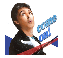 Chat with Paul McCartney sticker #5286116