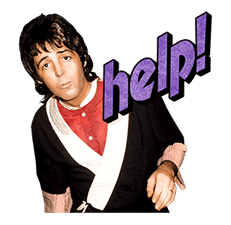 Chat with Paul McCartney sticker #5286119