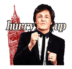 Chat with Paul McCartney sticker #5286120