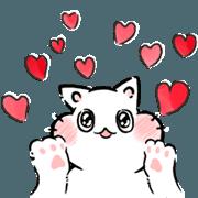 สติ๊กเกอร์ไลน์ My Little Kitty Cha-Cha