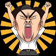 สติ๊กเกอร์ไลน์ Ike! Inachu Takkyu-bu ดุ๊กดิ๊กได้ด้วย!