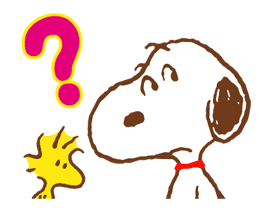 SNOOPY & Woodstock sticker #5436853