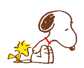 SNOOPY & Woodstock sticker #5436854