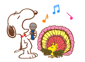 SNOOPY & Woodstock sticker #5436856