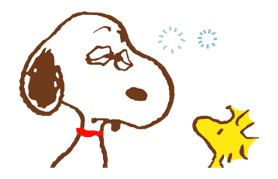 SNOOPY & Woodstock sticker #5436858