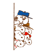 SNOOPY & Woodstock sticker #5436861