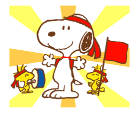 SNOOPY & Woodstock sticker #5436864