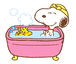SNOOPY & Woodstock sticker #5436866