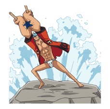 Moving ONE PIECE Commemorative Stickers sticker #5607257