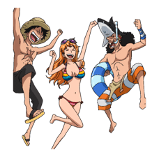 Moving ONE PIECE Commemorative Stickers sticker #5607259