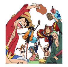 Moving ONE PIECE Commemorative Stickers sticker #5607266