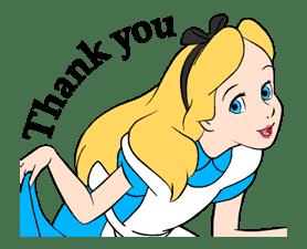 Alice In Wonderland Animated Stickers sticker #5692904
