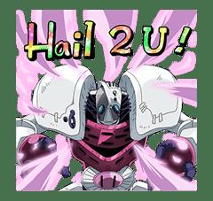 JoJo No. 3: Epic Battles sticker #5692729