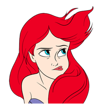 The Little Mermaid Animated Stickers sticker #5903819