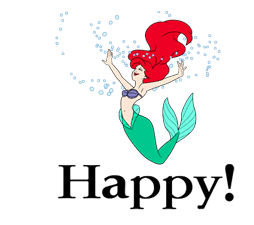 The Little Mermaid Animated Stickers sticker #5903829