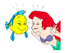 The Little Mermaid Animated Stickers sticker #5903830