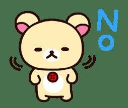 Rilakkuma's Big Vacation sticker #5997530