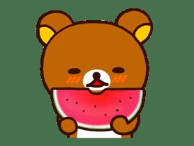 Rilakkuma's Big Vacation sticker #5997531