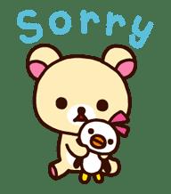 Rilakkuma's Big Vacation sticker #5997536
