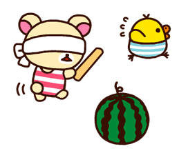 Rilakkuma's Big Vacation sticker #5997541