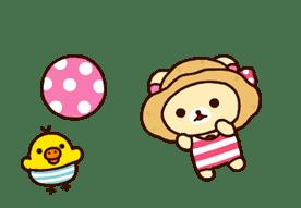 Rilakkuma's Big Vacation sticker #5997542