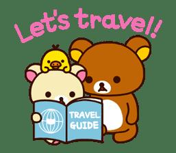 Rilakkuma's Big Vacation sticker #5997545