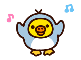 Rilakkuma's Big Vacation sticker #5997548