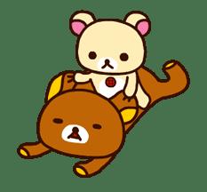 Rilakkuma's Big Vacation sticker #5997550