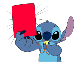 Stitch on the Move sticker #6111540