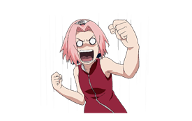 Animated NARUTO Stickers sticker #6150274