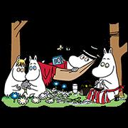 สติ๊กเกอร์ไลน์ Moomin