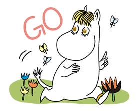 Moomin sticker #6350128