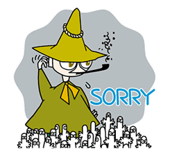 Moomin sticker #6350142