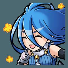 สติ๊กเกอร์ไลน์ CRYSTAL OF RE:UNION Hero Sticker 2