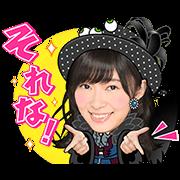 สติ๊กเกอร์ไลน์ AKB48 สติ๊กเกอร์พร้อมเสียง