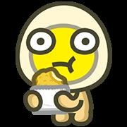 สติ๊กเกอร์ไลน์ MILUEGG: Animated is tastier! Vol. 2