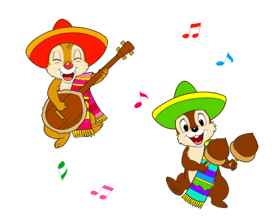 Chip 'n' Dale Summer Delight Stickers sticker #6982113