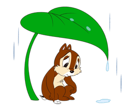 Chip 'n' Dale Summer Delight Stickers sticker #6982126