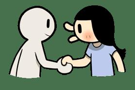 Animated Smile Brush sticker #7115295