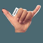 สติ๊กเกอร์ไลน์ ภาษามือ v.1
